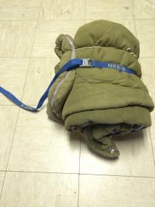 Sleeping bag strap