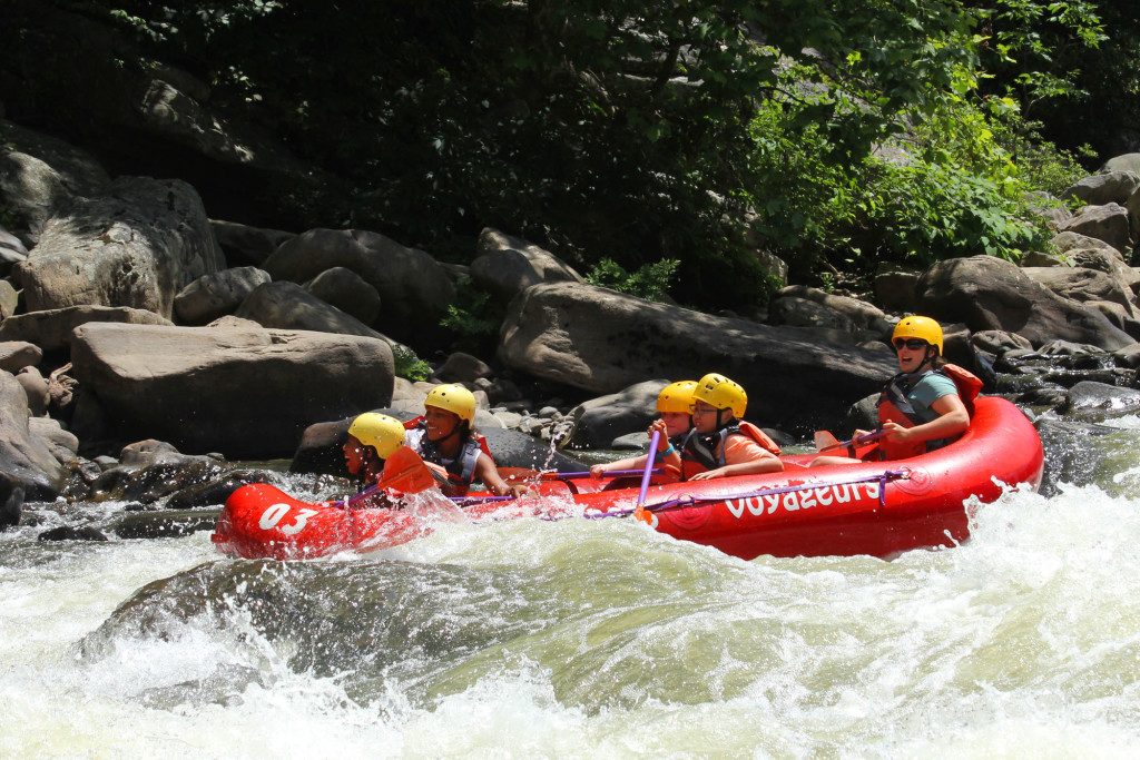 appalachian adventure white water rafting
