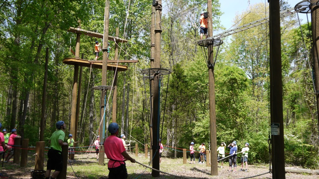Corporate Team Building at Adventure Links