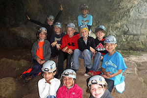 Caving Adventure Links at Hemlock Overlook