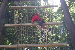 Challenge Course Adventure Links at Hemlock Overlook