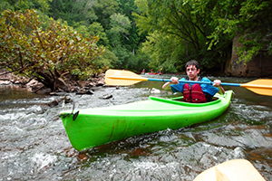 Kayaking Adventure Links at Hemlock Overlook Day Camp