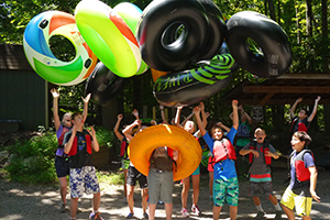 River Tubing Adventure Links at Hemlock Overlook