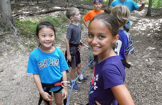 Classic Adventure Day Camp Adventure Links at Hemlock Overlook