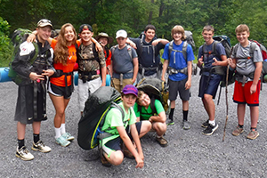 Hiking Expeditions Adventure Links at Hemlock Overlook