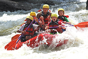 Rafting Expeditions Adventure Links at Hemlock Overlook