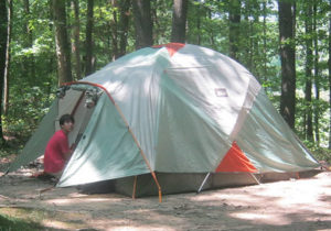 Camping Expeditions Adventure Links at Hemlock Overlook