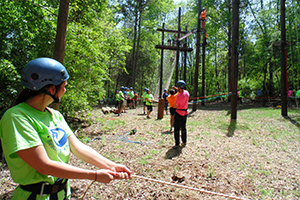 High Ropes Course Expeditions Adventure Links