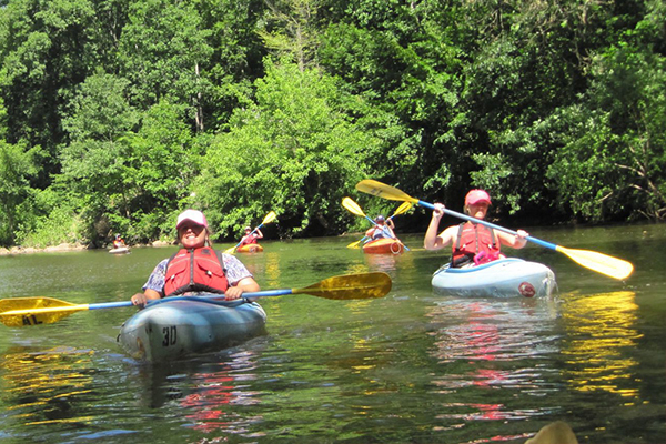 Adventure Activities Kayaking