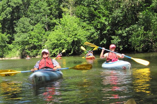 Adventure Activities Kayaking